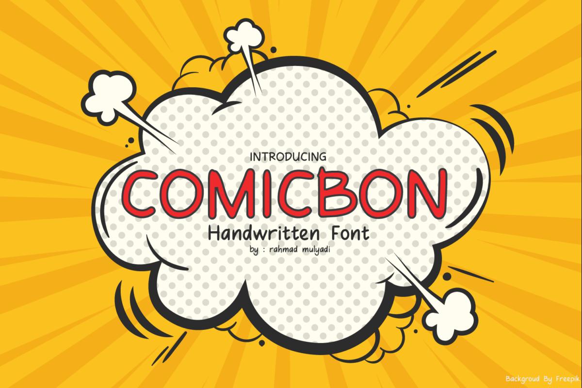 Comicbon in Handwriting Fonts