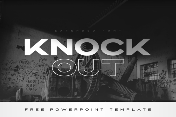 21 knockout extended font 00