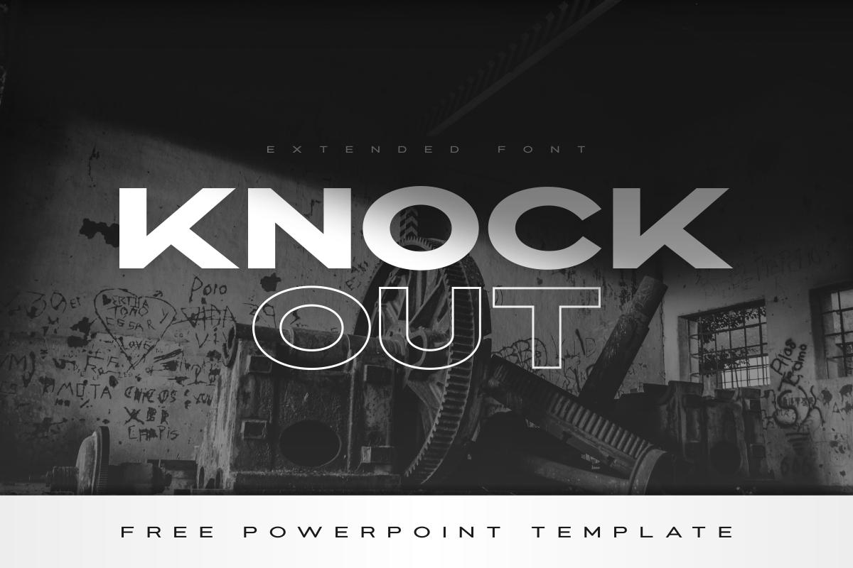 Knockout - Extended Bold Font in Sans Serif Fonts