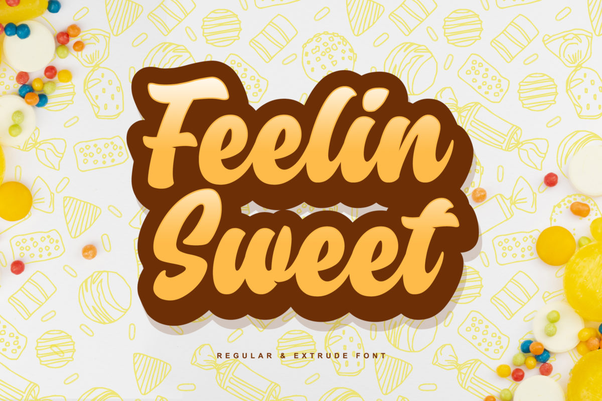 Feelin Sweet in Handwriting Fonts