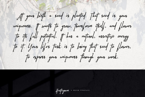 Hastagram - Calligraphy Font in Calligraphy Fonts