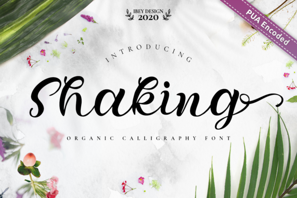 26 Shaking Font Page 1