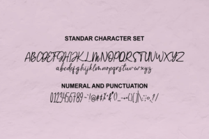 Greemicaly in Handwriting Fonts