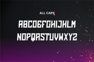 Emberclaws in Display Fonts