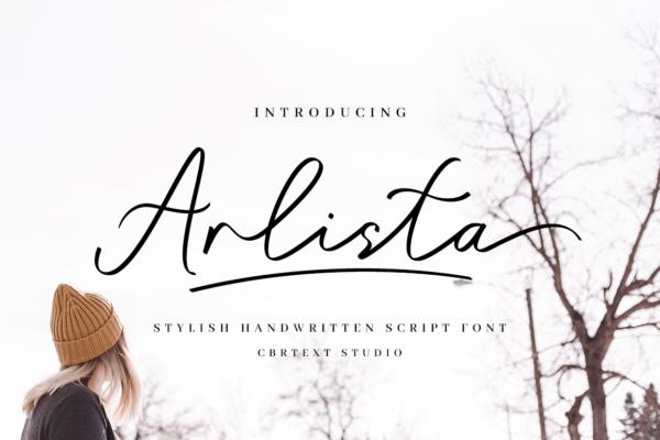 Arlista in Brush Fonts