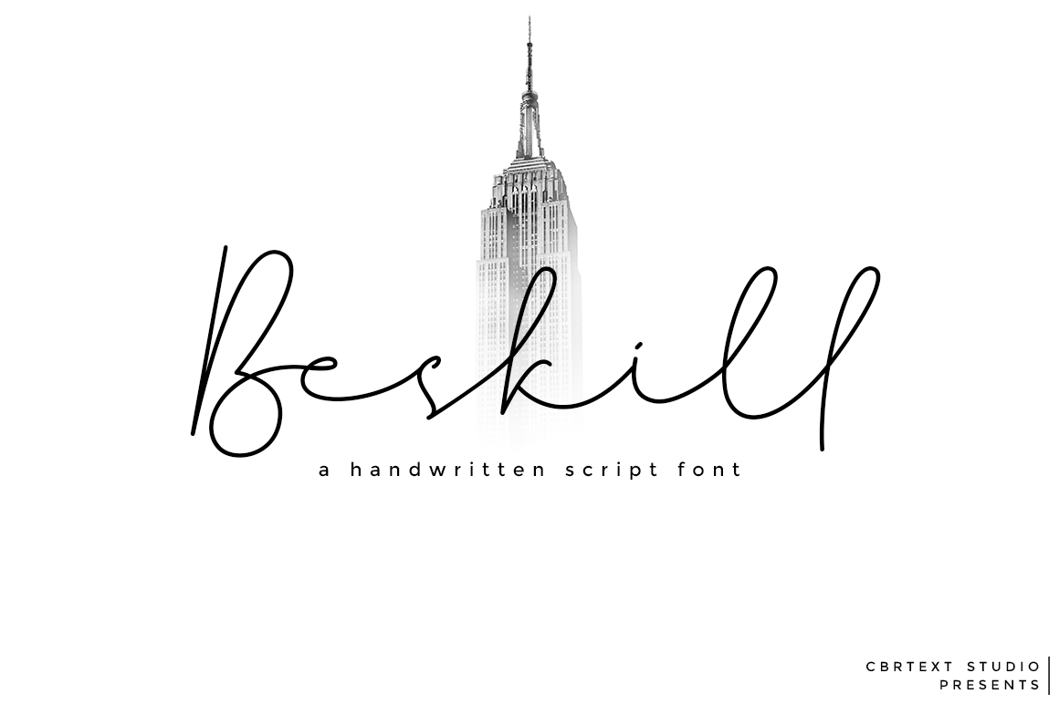 Beskill in Handwriting Fonts