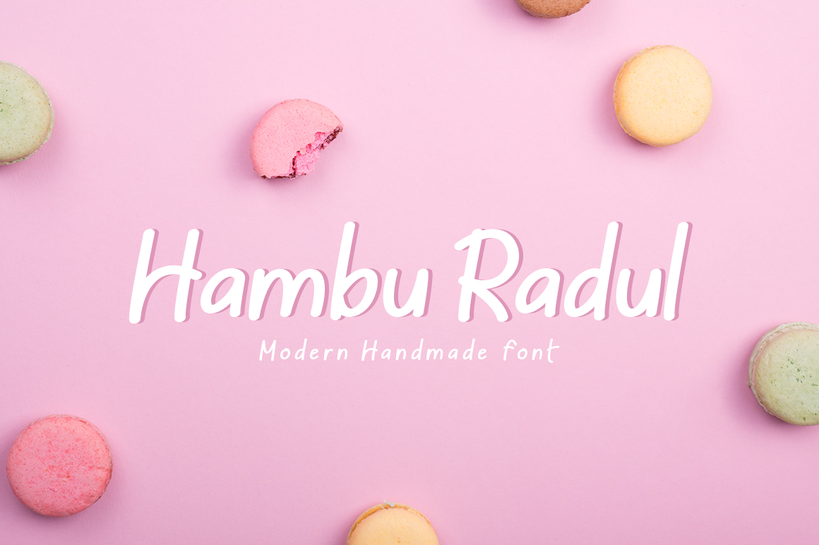 Hambu Radul in Display Fonts