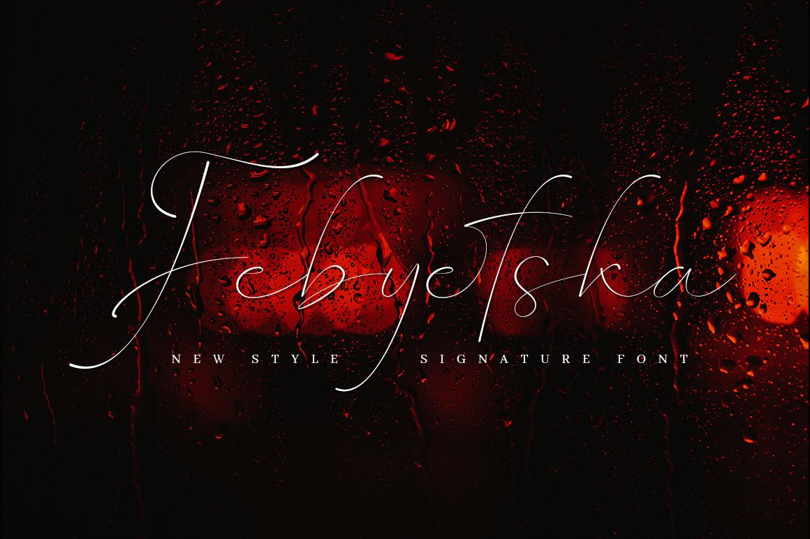 Febyetska in Handwriting Fonts