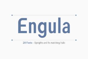 Engula in Sans Serif Fonts