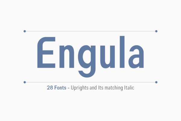 Engula in Other Fonts Fonts