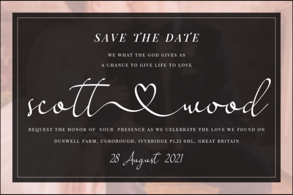Love Said in Calligraphy Fonts
