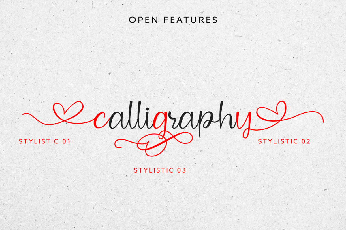 Kindlovely in Calligraphy Fonts