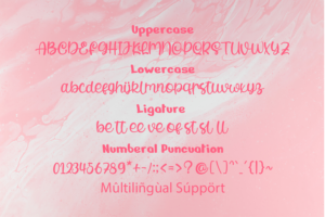 Cutties in Calligraphy Fonts