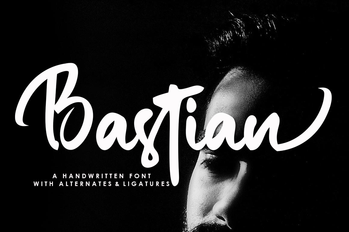 Bastian in Script Fonts