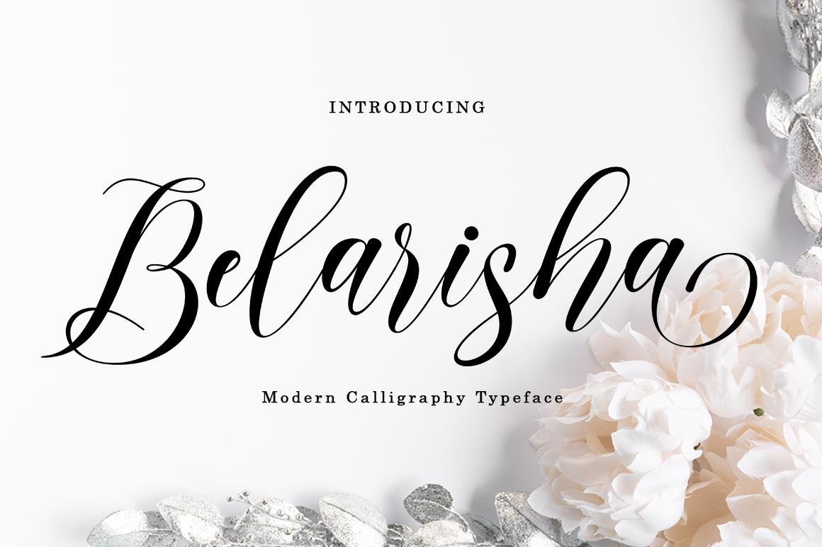 Belarisha in Calligraphy Fonts