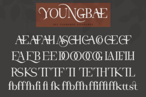Youngbae in Serif Fonts