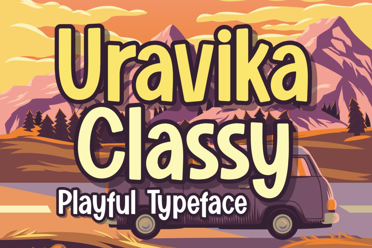Uravika Classy in Display Fonts