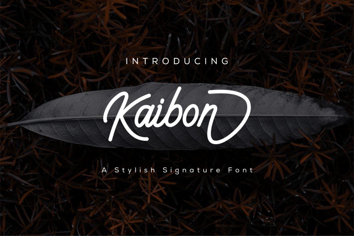 Kaibon in Handwriting Fonts