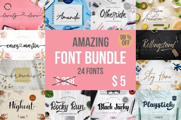 Best Selling in Fonts
