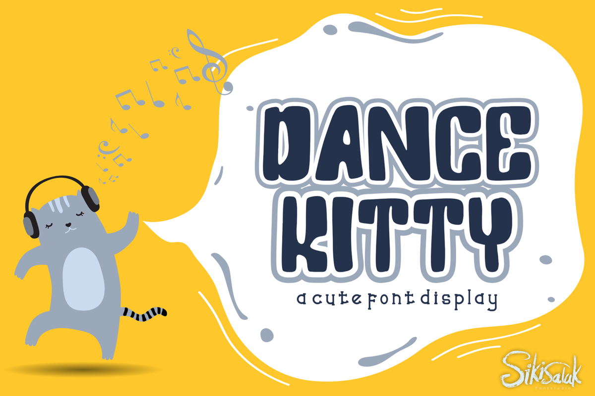 Dance Kitty in Display Fonts