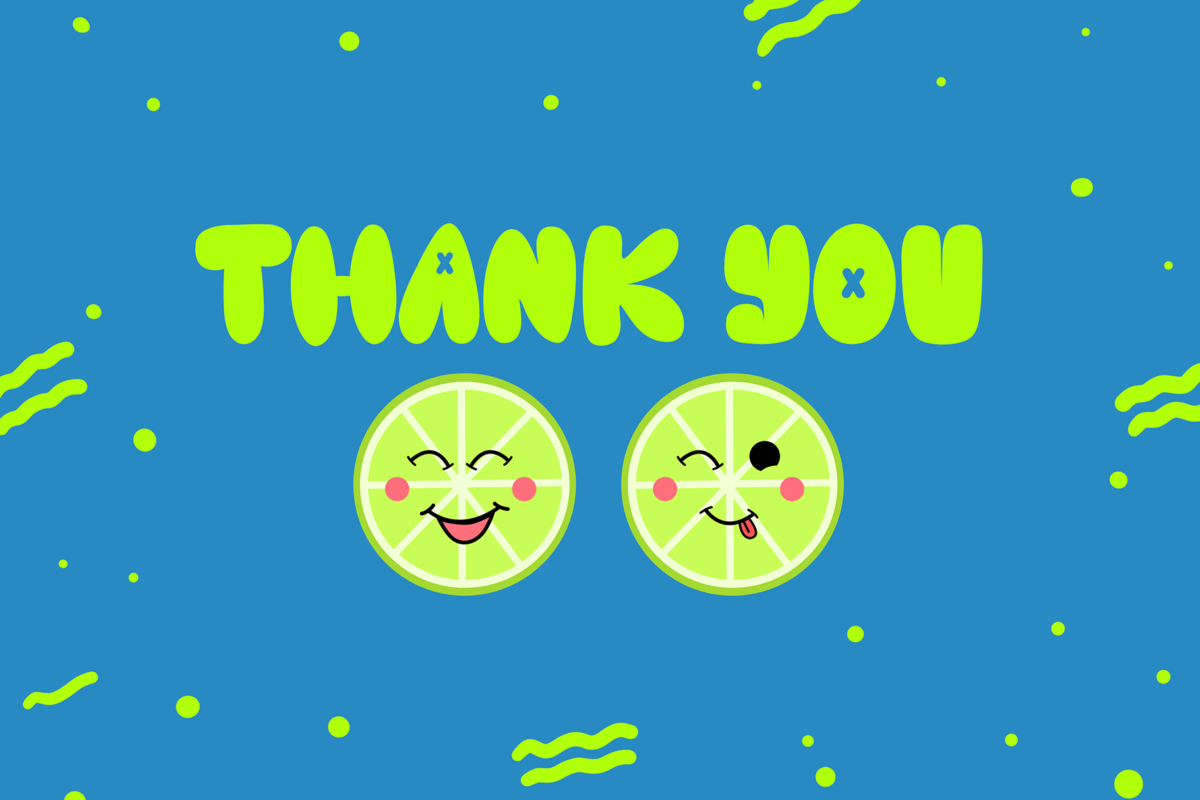 Cute Lime in Display Fonts