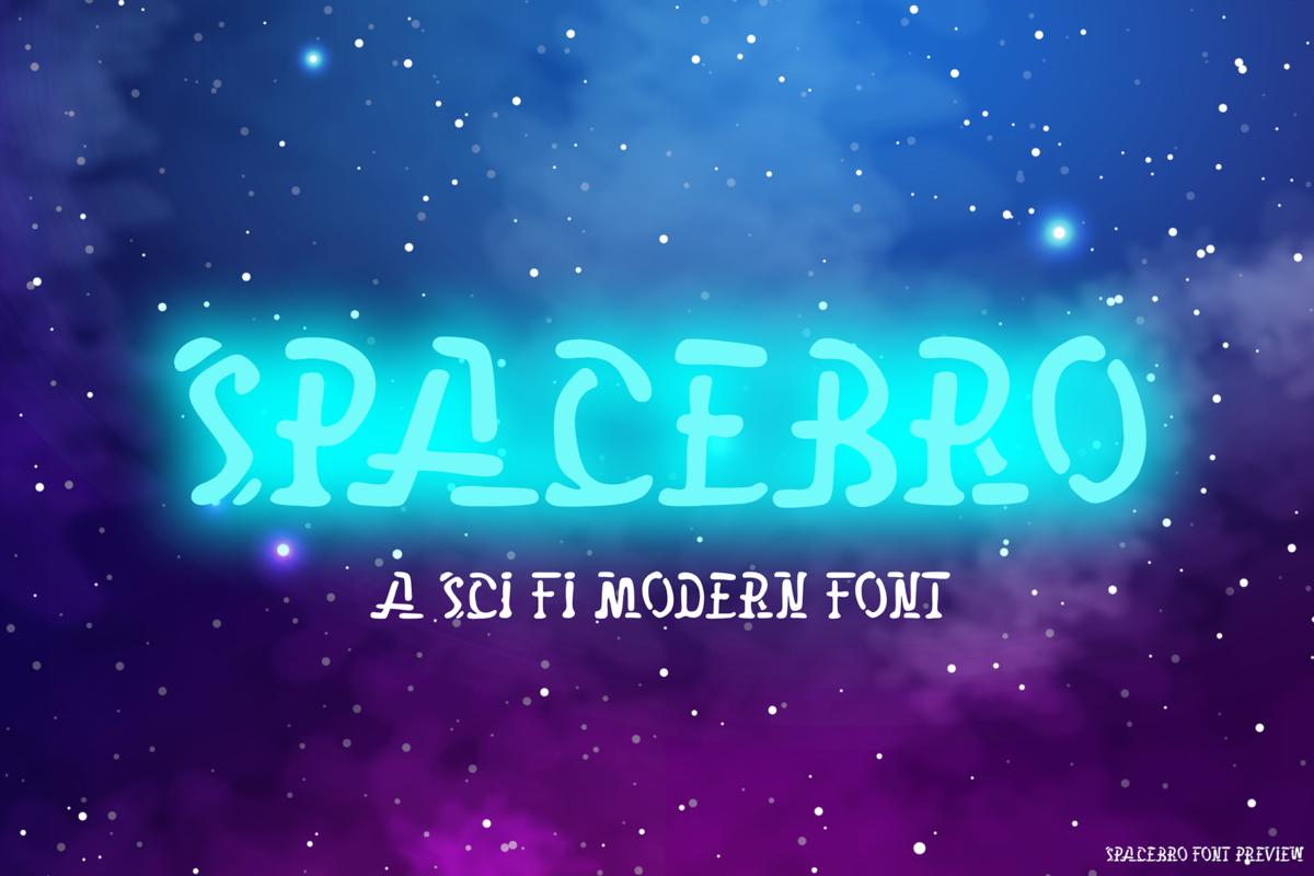 Spacebro in Display Fonts