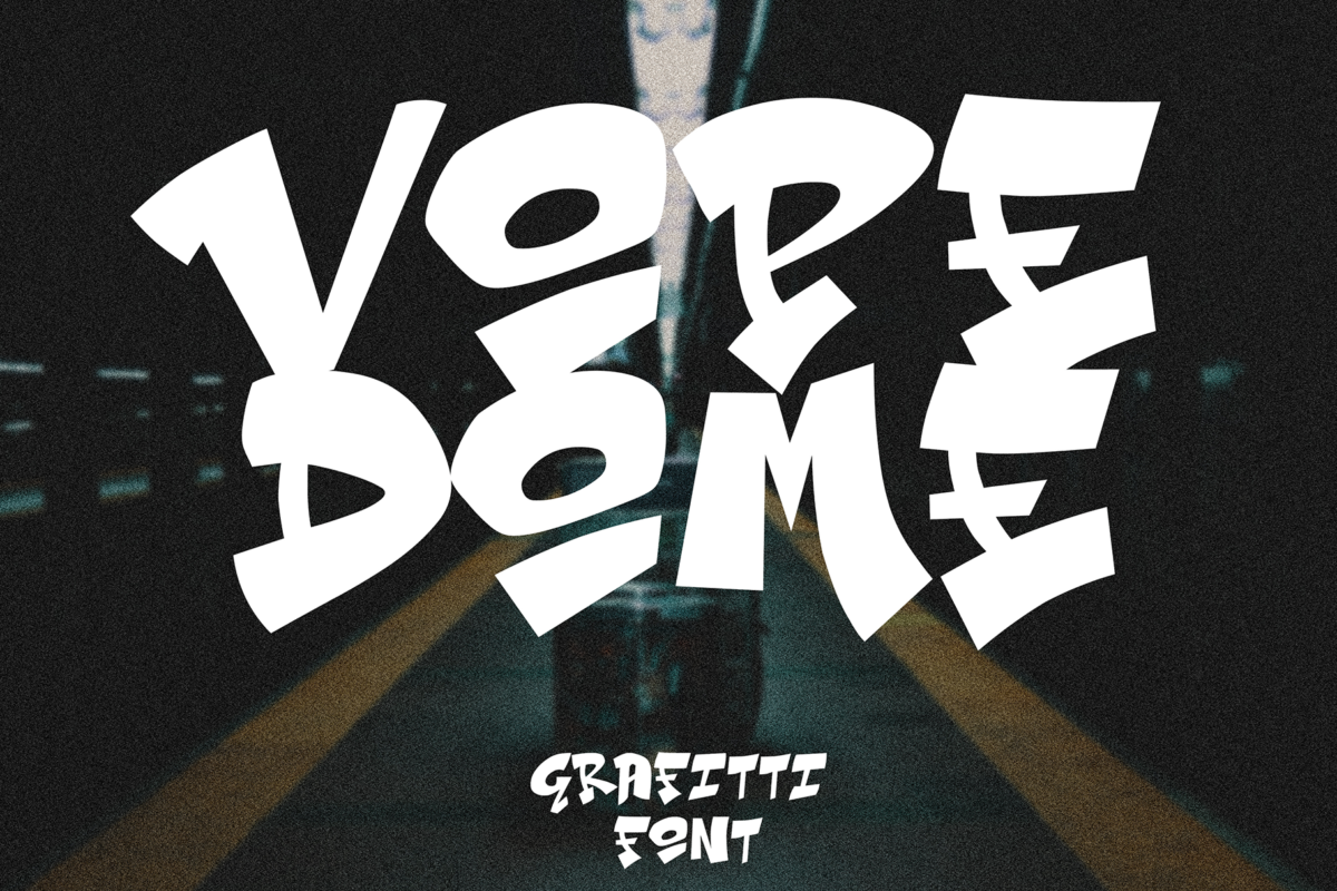 Vope Dome in Display Fonts