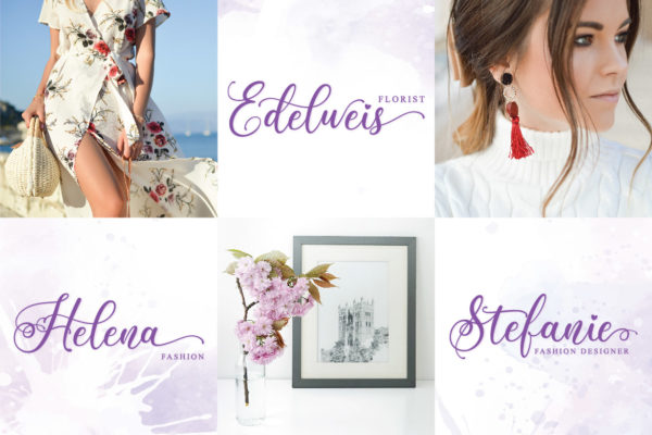 Beauty Gadish in Calligraphy Fonts