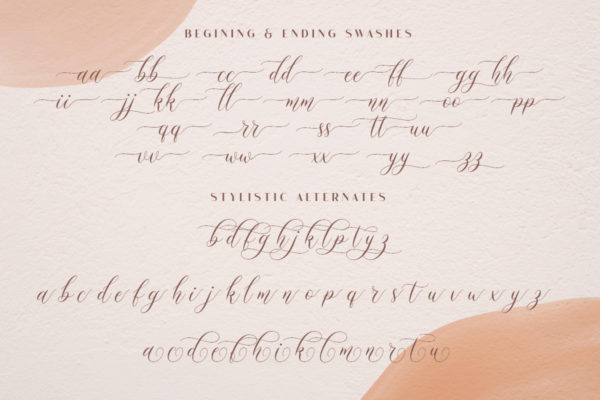 Mockingbird - Modern Calligraphy in Calligraphy Fonts