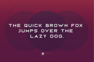 Bord in Display Fonts