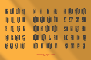 Silver Crown in Display Fonts