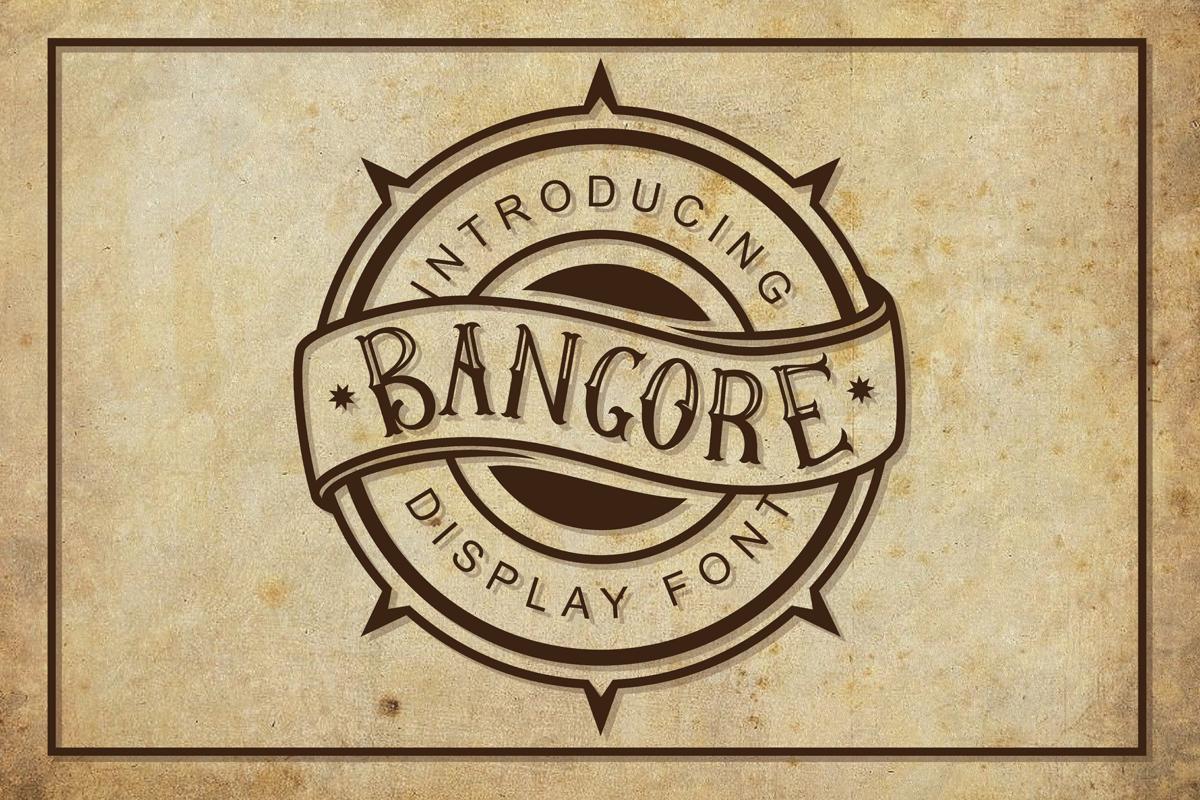 Bangore in Blackletter Fonts