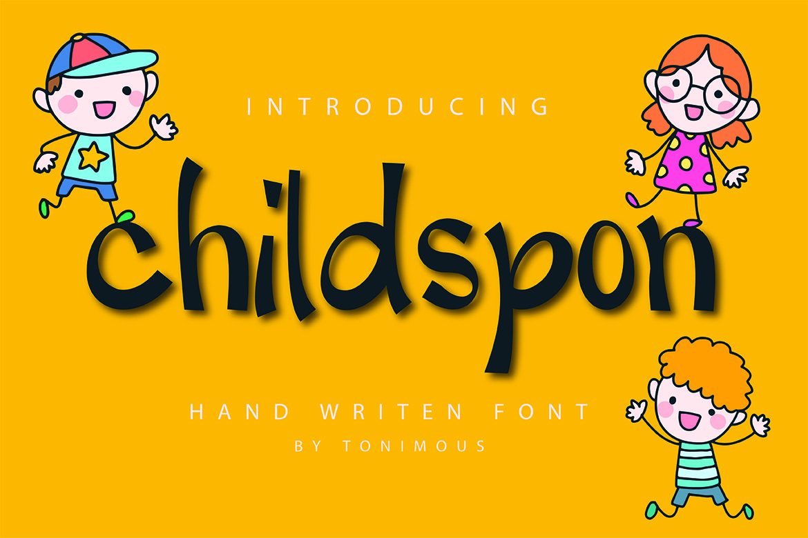 Childspon in Display Fonts