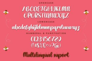 Honey Shake in Calligraphy Fonts