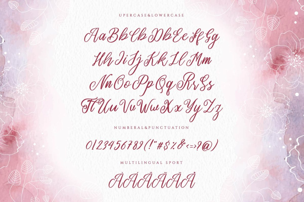 Romansa Beauty in Calligraphy Fonts