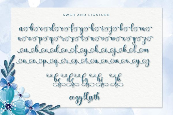Hayslei in Calligraphy Fonts