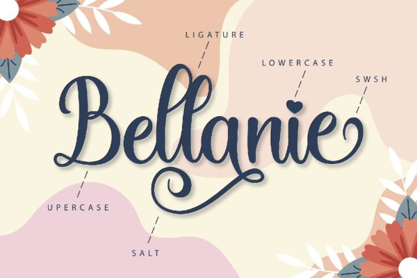 Bellanie in Calligraphy Fonts