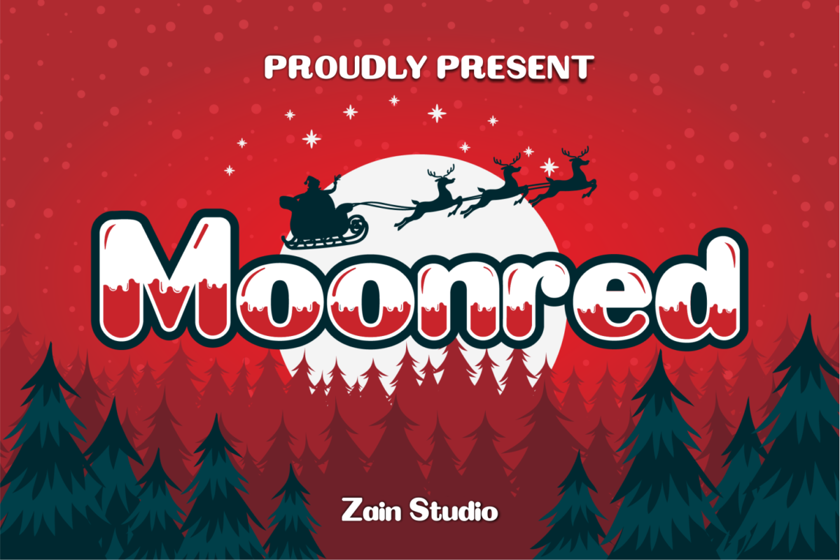 Moonred in Display Fonts