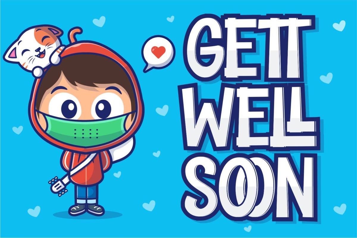 Gett Well Soon in Display Fonts