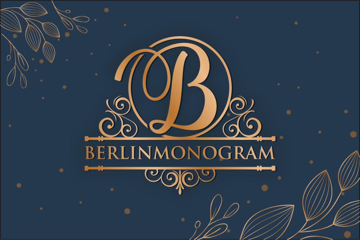 Berlin Monogram in Decorative Fonts