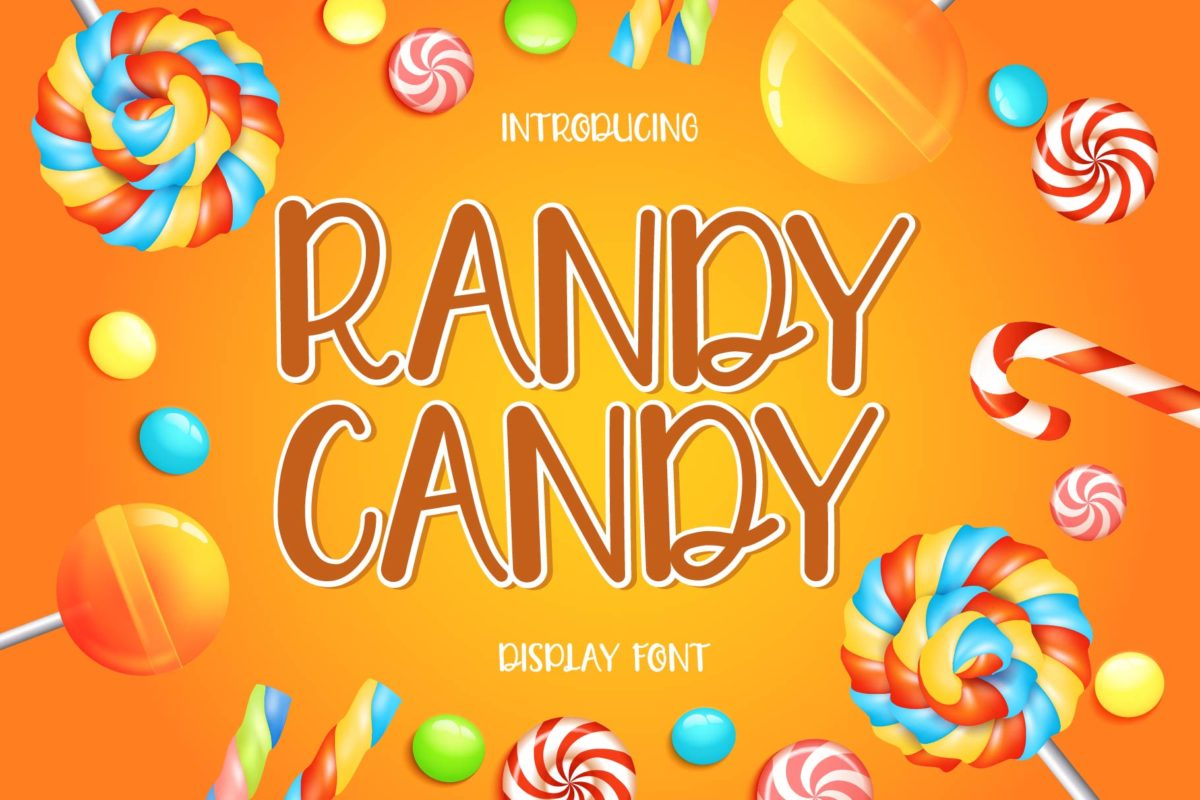 RANDY CANDY in Display Fonts