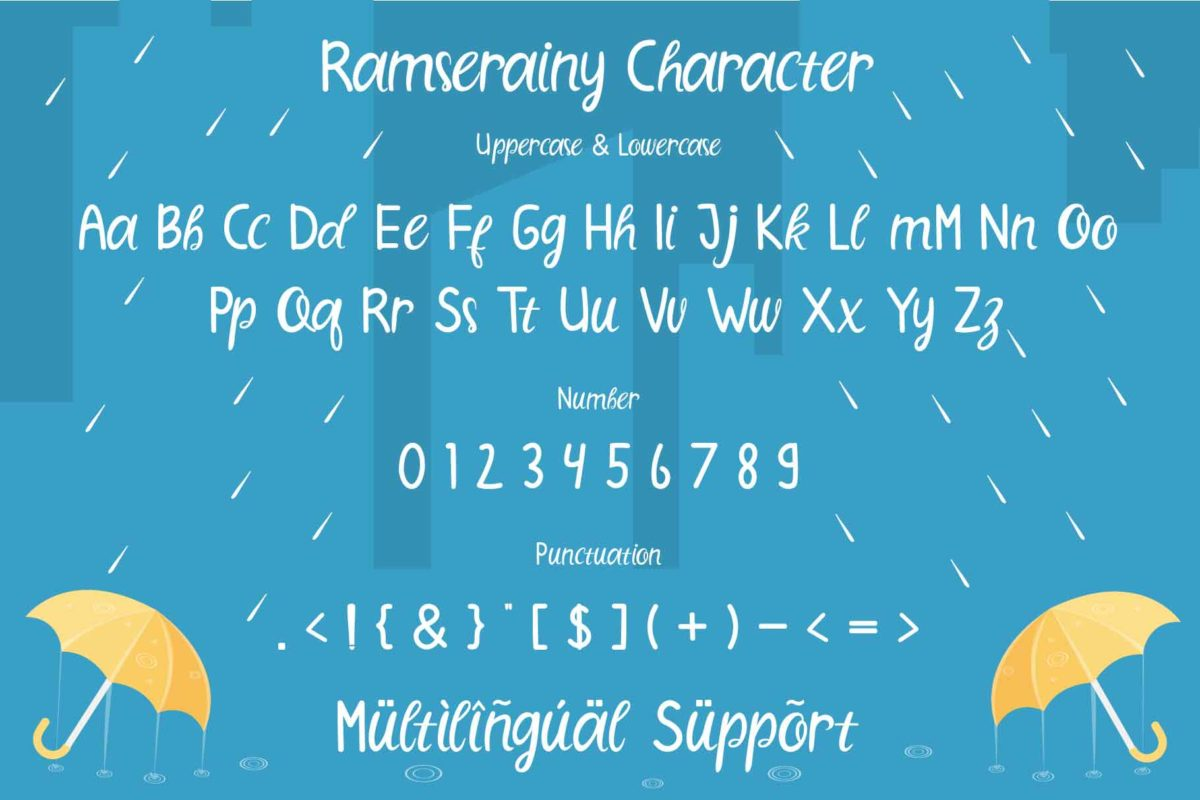 Ramserainy in Display Fonts