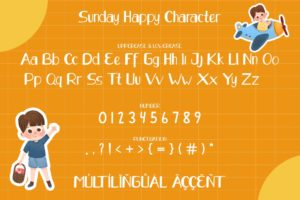 Sunday Happy in Display Fonts