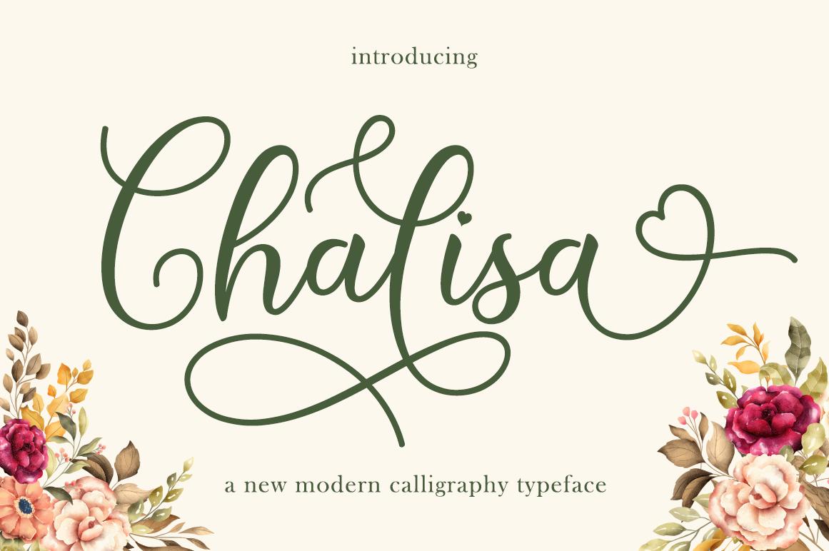 Chalisa in Script Fonts