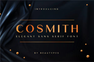 Cosmith in Serif Fonts