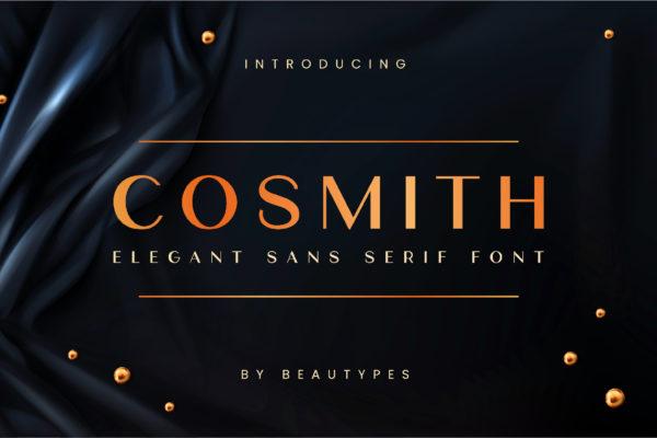 Cosmith in Sans Serif Fonts