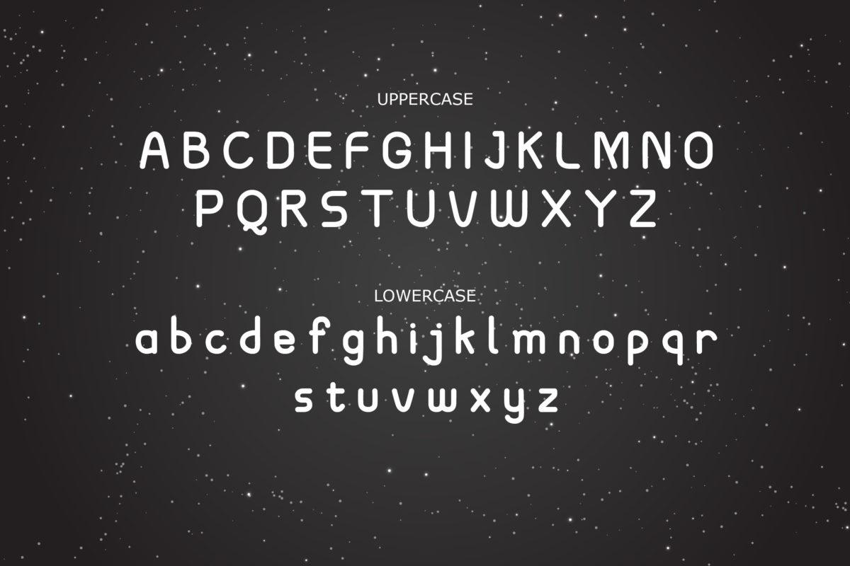 Spacecraft Hand Drawn Futuristic Font in Sans Serif Fonts