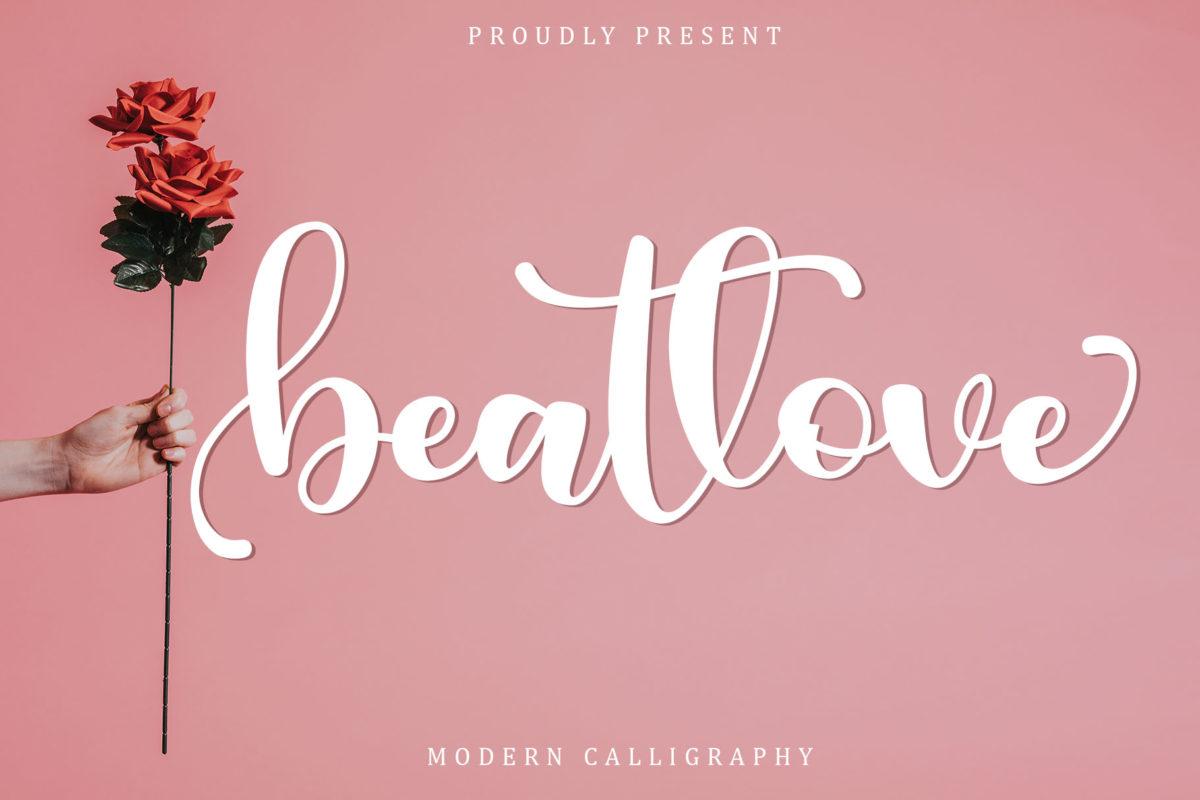 Beatlove in Calligraphy Fonts