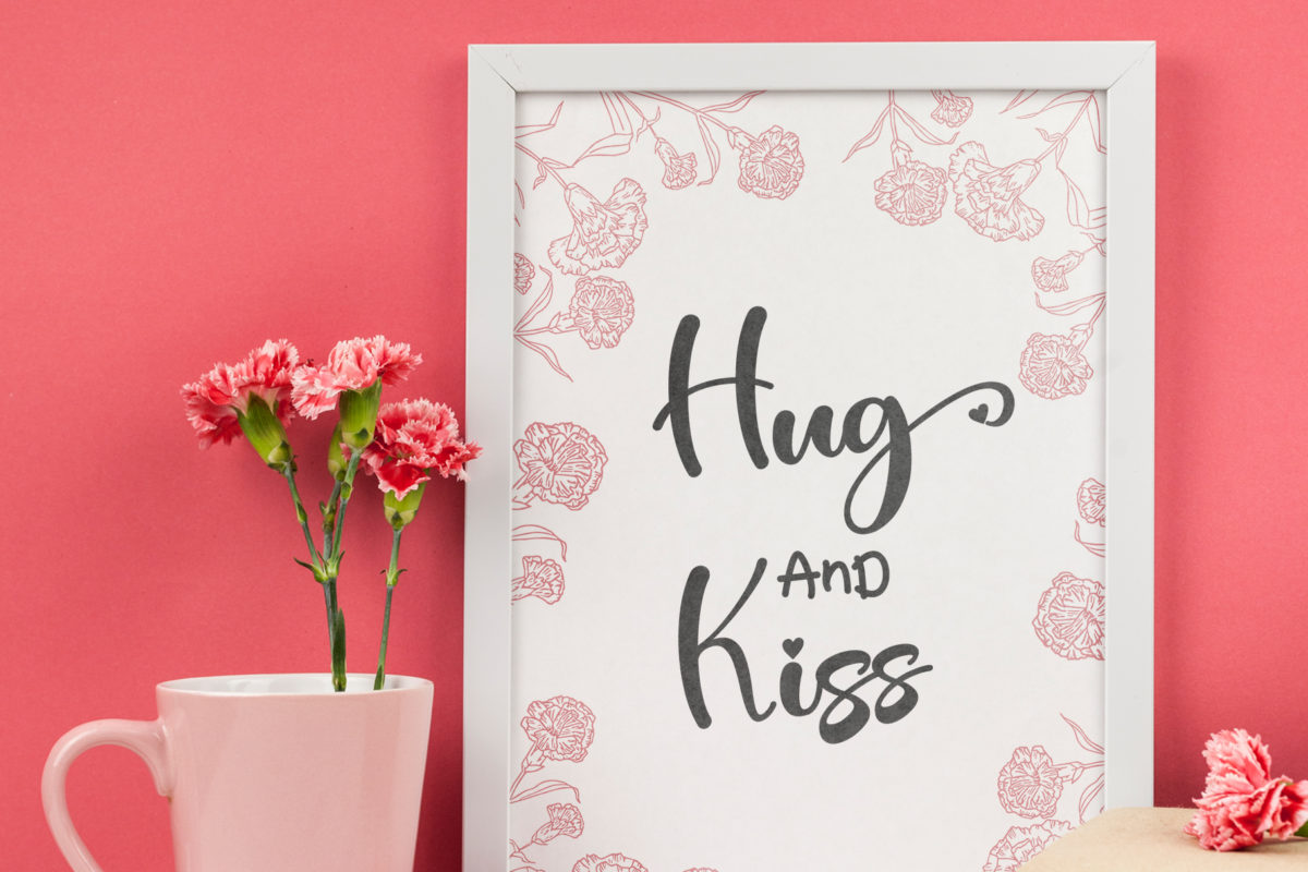 Valentine Bright in Calligraphy Fonts