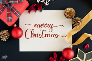 Christmas Night in Calligraphy Fonts